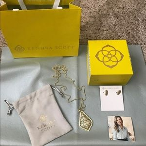 Kendra Scott Necklace and Earring Bundle